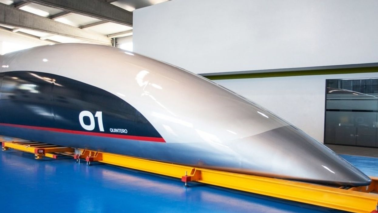 New 700-mph hyperloop pod can go from L.A. to San Francisco in 30 minutes