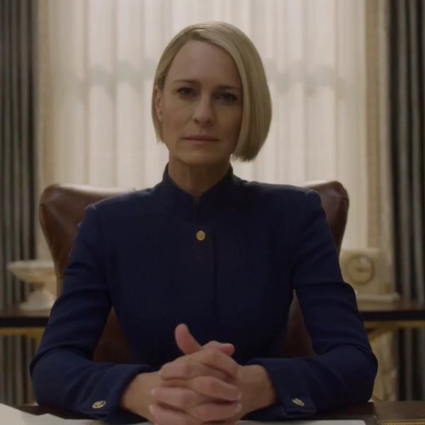 Claire Underwood Isn't Going To Keep Her Mouth Shut