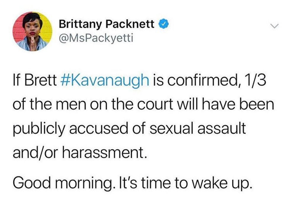 Brett Kavanaugh's Confirmation Is Rape Culture Personified