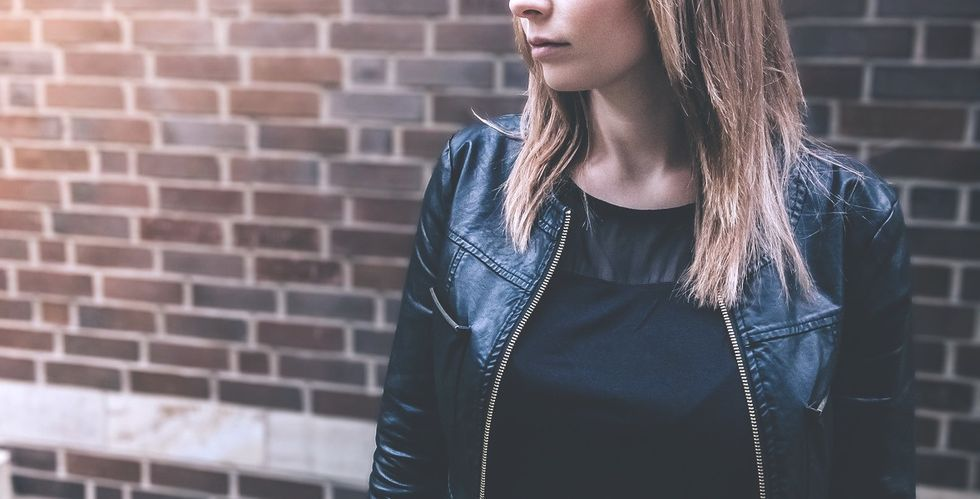 If You Missed The Memo, Leather Jackets Are 100 Percent A College Wardrobe Staple