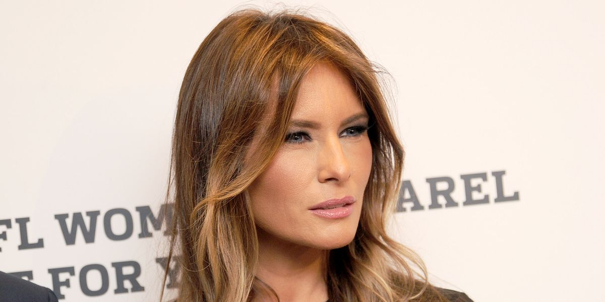 Melania Trump Shockingly Doesn't Support #MeToo