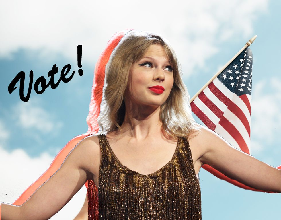 Taylor, Look What You Made Me Do: Register To Vote