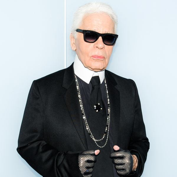Karl Lagerfeld Tries His Hand At Sculpture