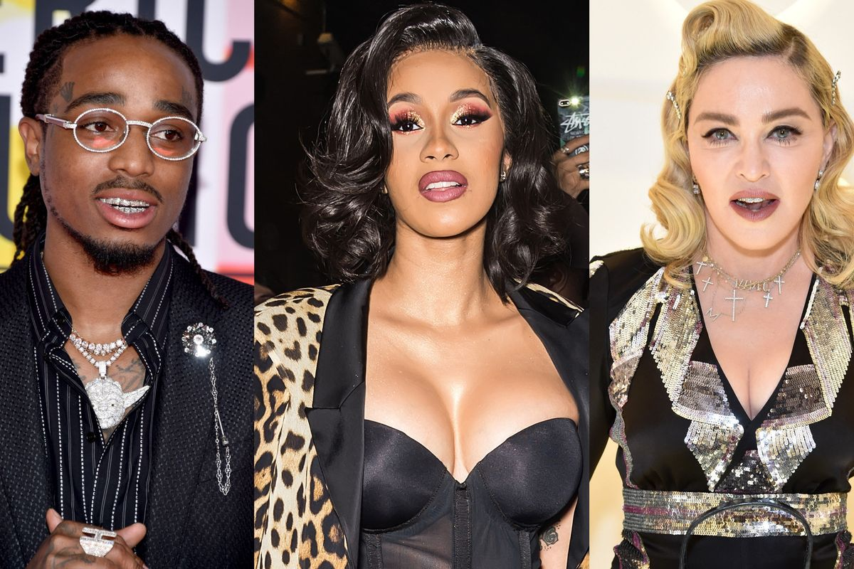 Quavo, Madonna, and Cardi B Have a Song Together
