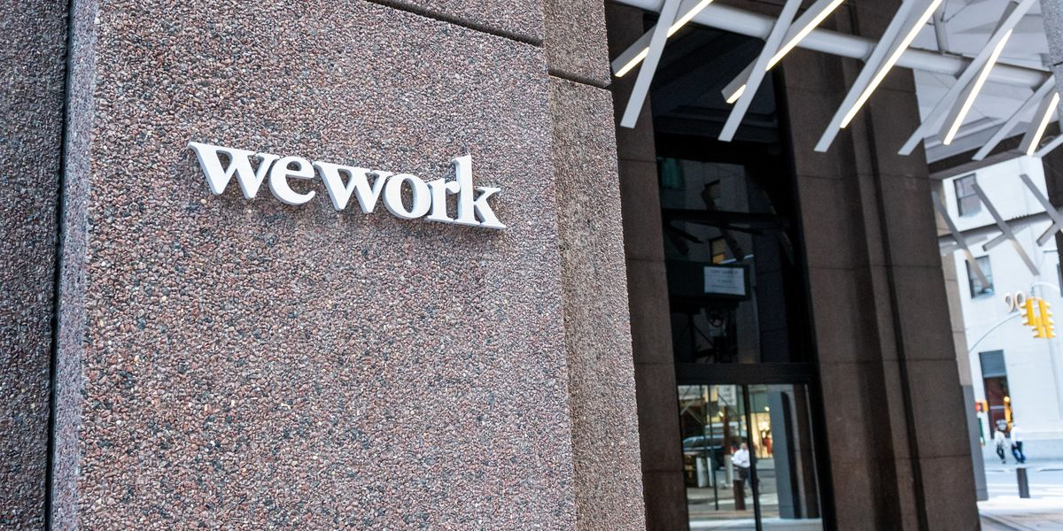 WeWork Sued For 'Frat-Boy' Culture, Mishandling Sexual Harassment