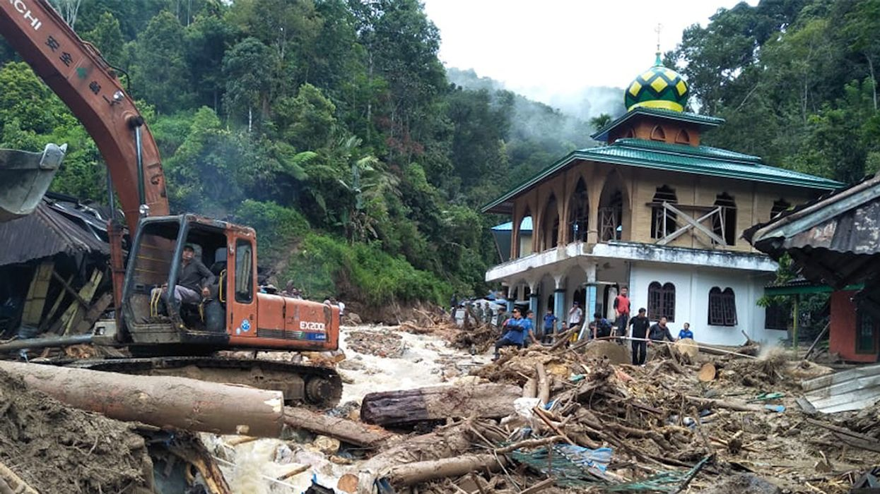 At Least 27 Dead as Landslides Strike Indonesia, Including Village School