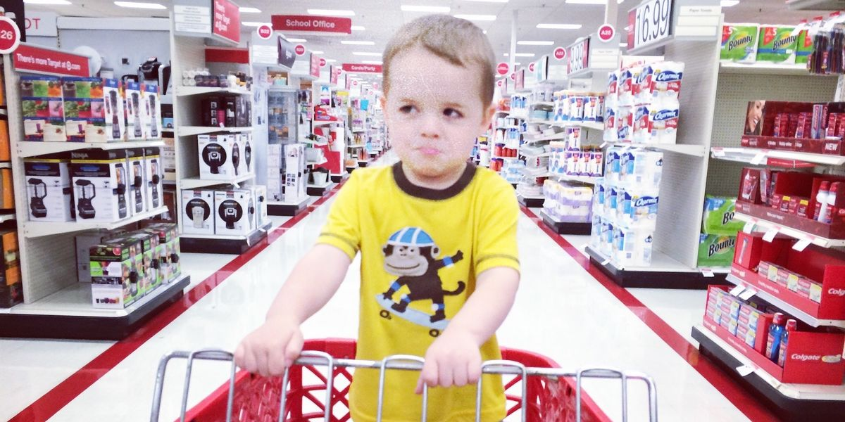 This mom's post about a toddler's tantrum at Target goes viral for the best reason