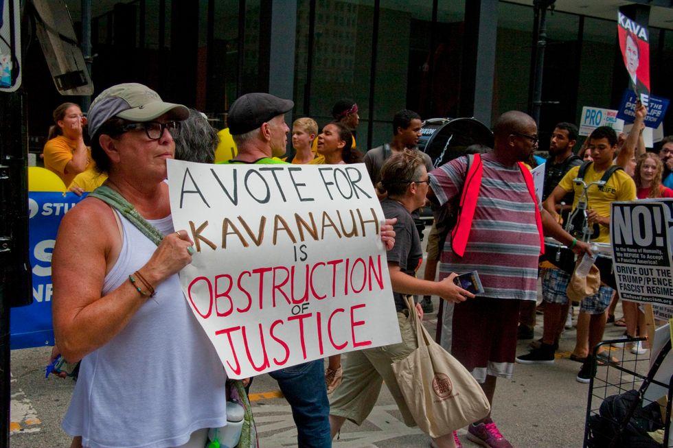Anti-Kavanaugh Rally