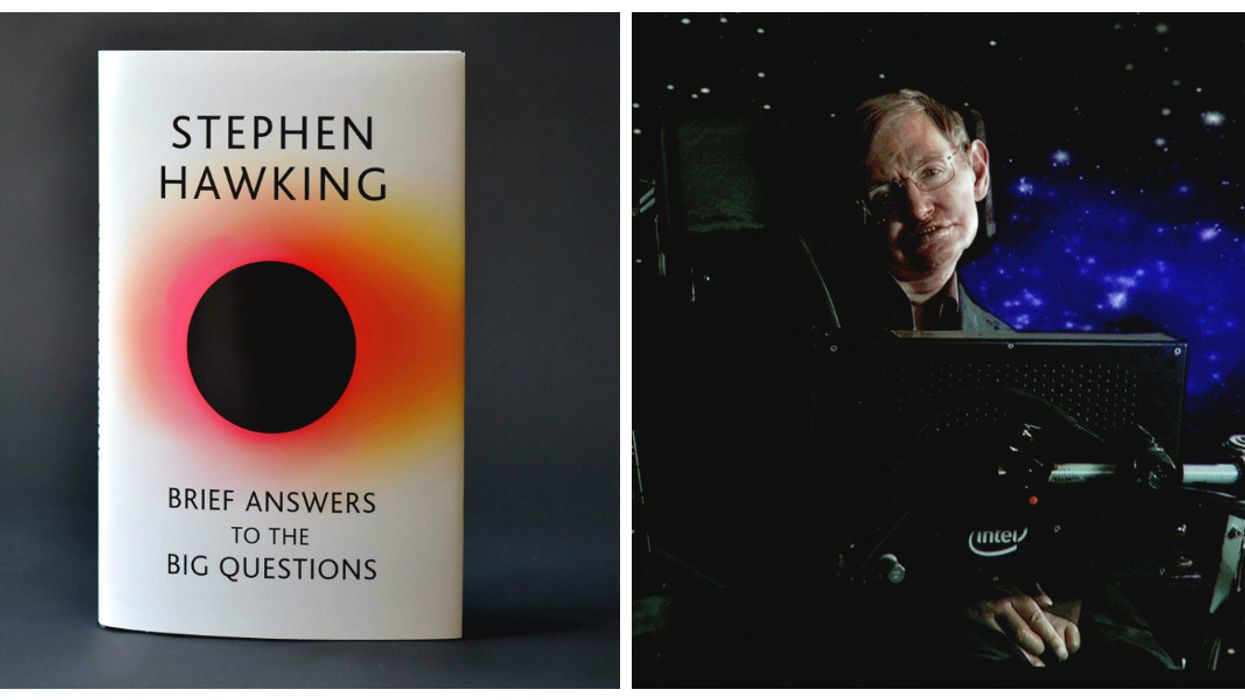 """Stephen Hawking: """"There is no God. No one directs the universe."""""""