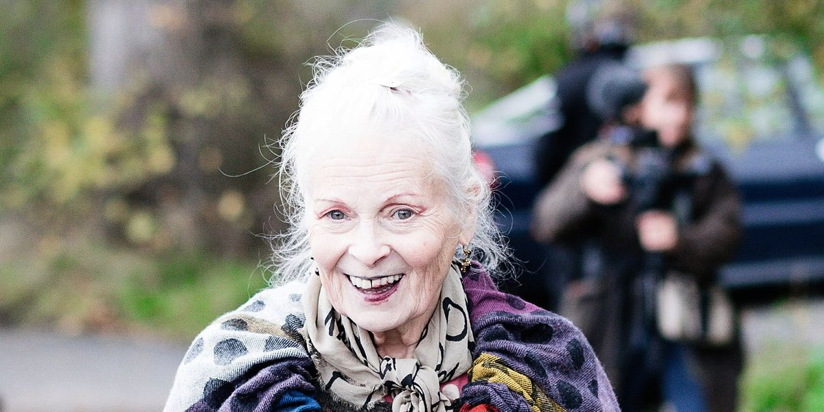 Vivienne Westwood Dances to ABBA, Protests Fracking