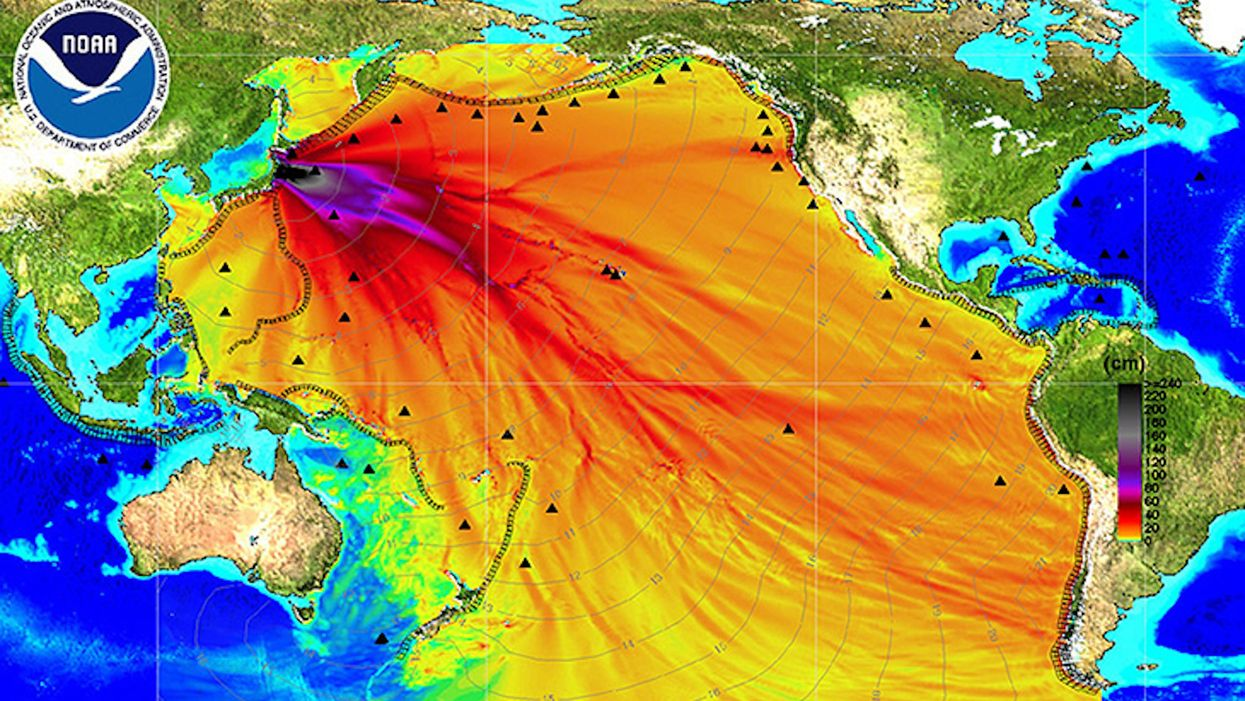 Take hope: This Fukushima disaster map is a fake