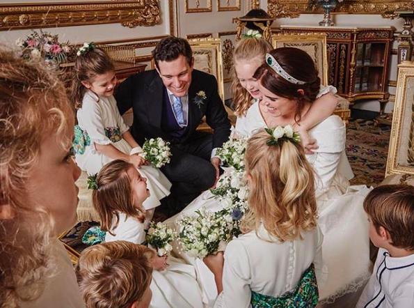 Princess Eugenie Had A Fairytale Royal Wedding, It Was Practically Perfect