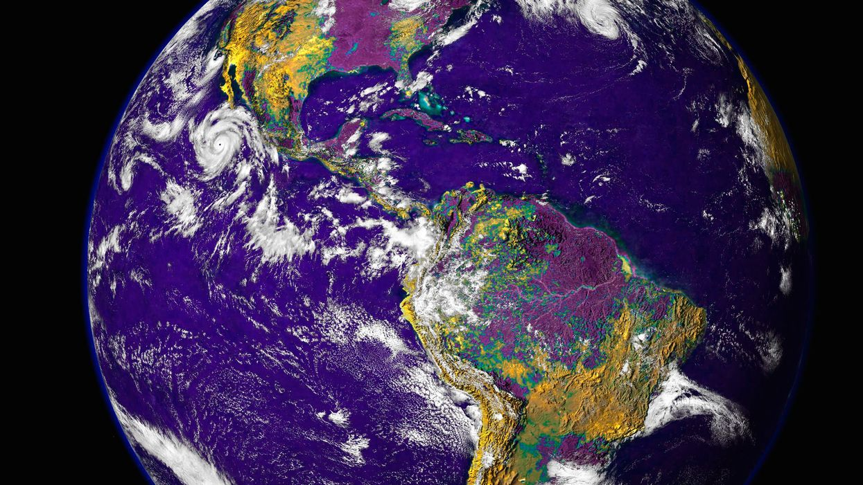 Earth used to be purple, new NASA study shows