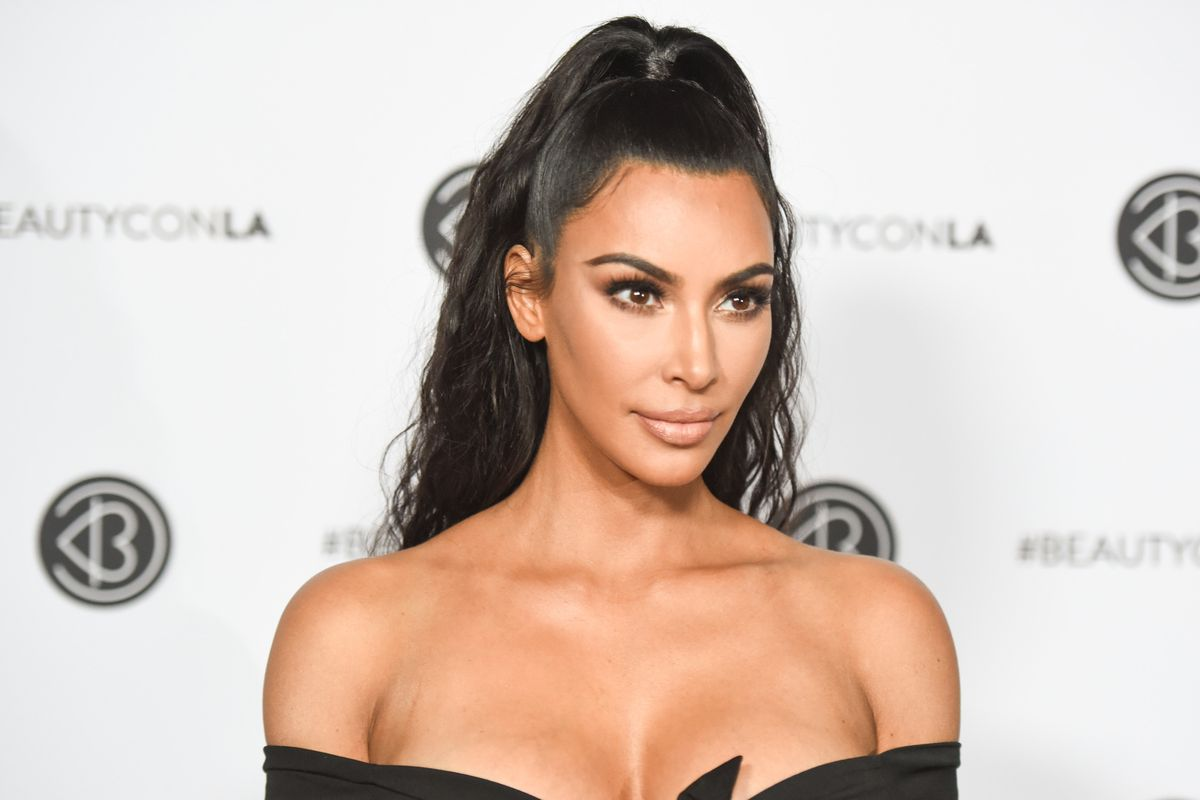 David LaChapelle Shoots Kim K for New KKW Beauty Campaign
