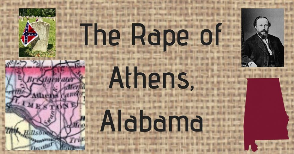 Old Alabama History: The Rape Of Athens