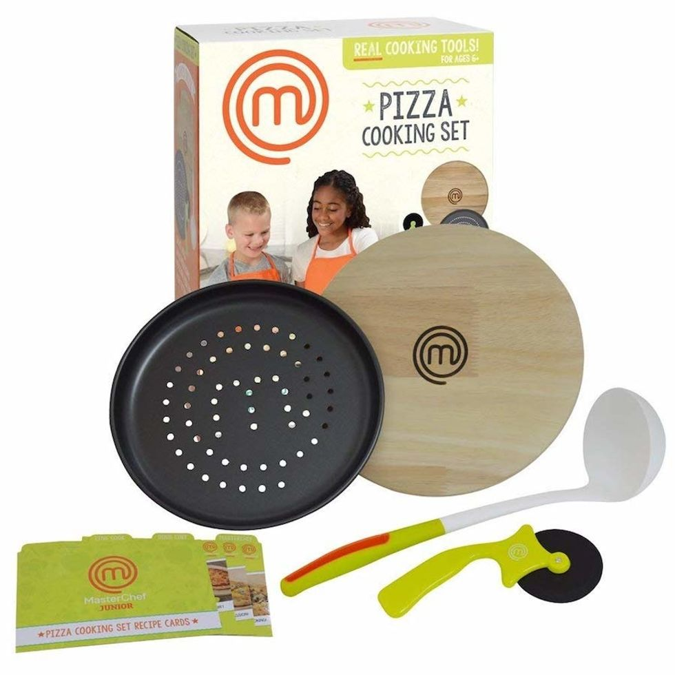 kids pizza cooking set