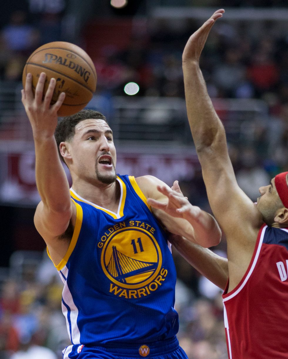 Klay Thompson's Slump Is Offically Over