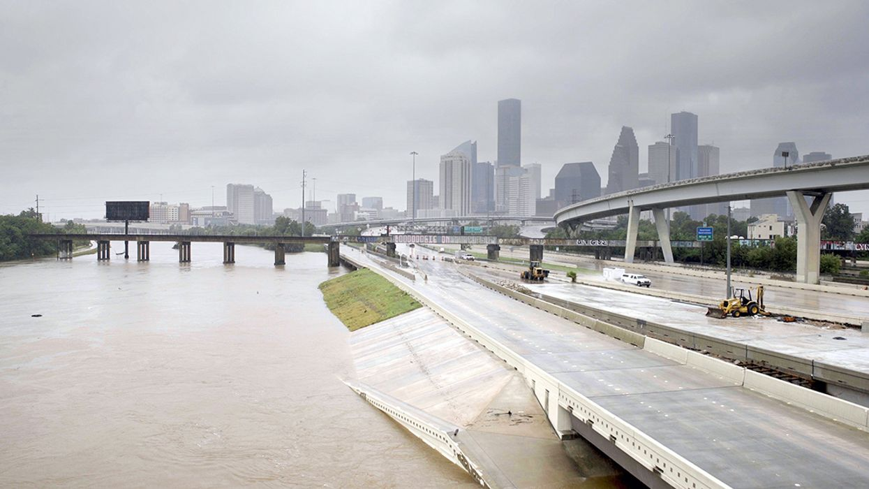 Houston's Tall Buildings and Concrete Sprawl Made Harvey's Rain and Flooding Worse