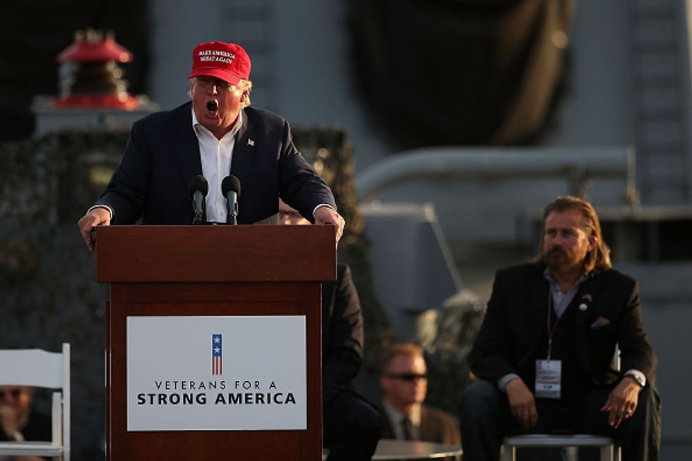 Trump Promises Illegal Immigrants Will No Longer Be 'Treated