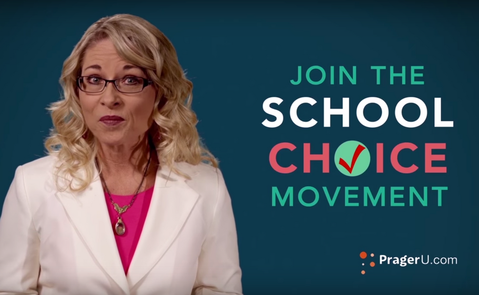 A former teachers union member leader is now fighting unions and pushing hard for school choice