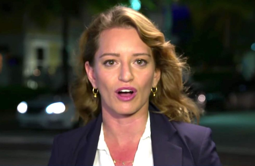 Msnbc S Katy Tur Criticized For Not Knowing About Obama S Hot Mic Moment Theblaze