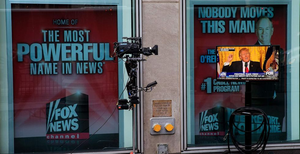 Fox News co-president resigns in latest shake-up at the network