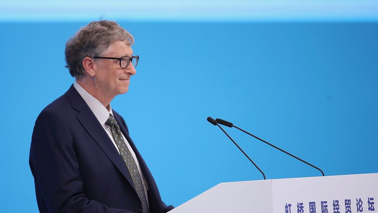 Bill Gates Unveils Toilet That Transforms Waste Into Fertilizer, Doesn't Require Water or Sewers