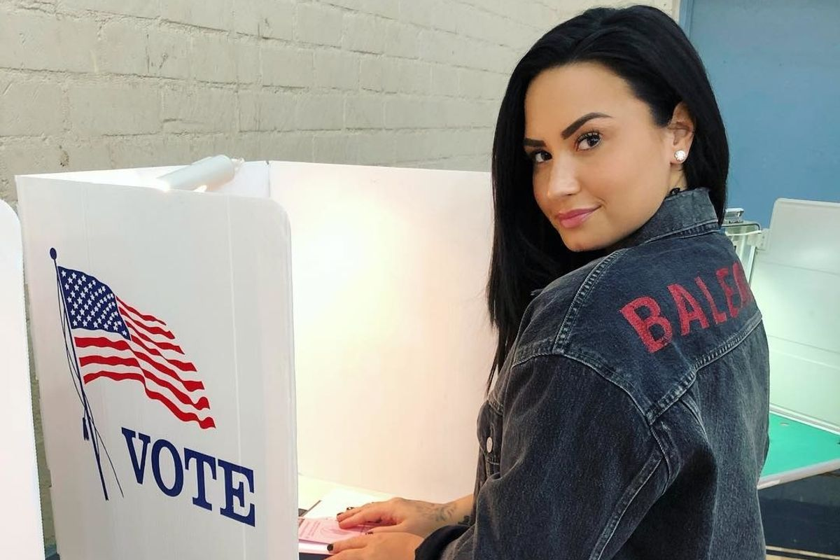 Demi Lovato Is Back On Instagram And Asking You To Vote