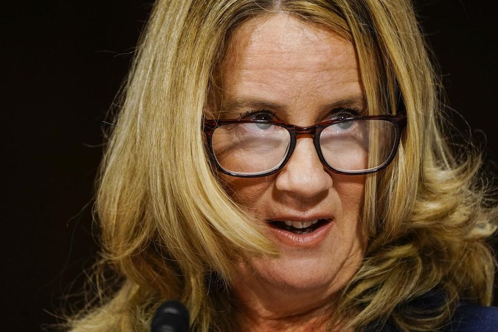 Commentary: Christine Blasey Ford's latest stunt sinks any credibility she had left