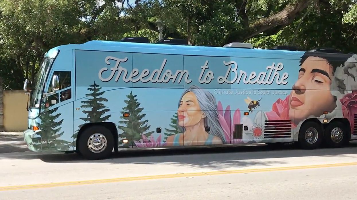 Video: Freedom to Breathe Tour Bus Visits Communities Across the Country Working on Climate Solutions