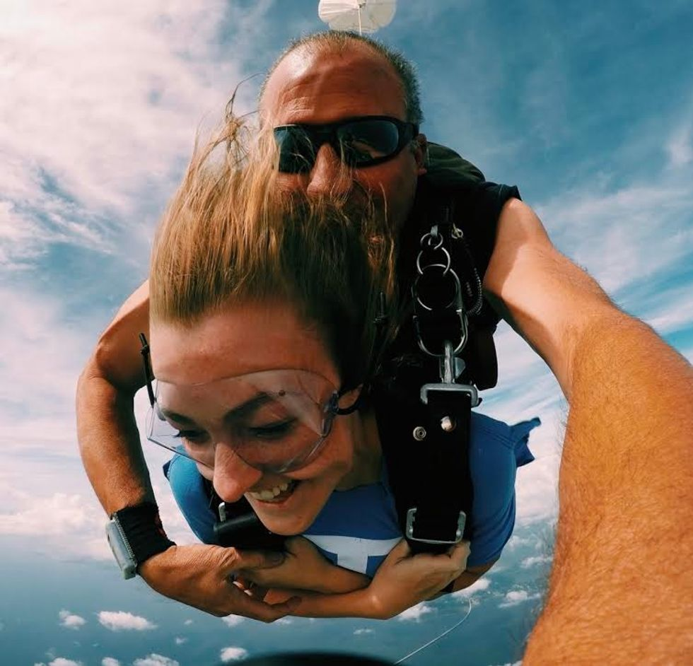 Skydiving Really Wasn't That Insane