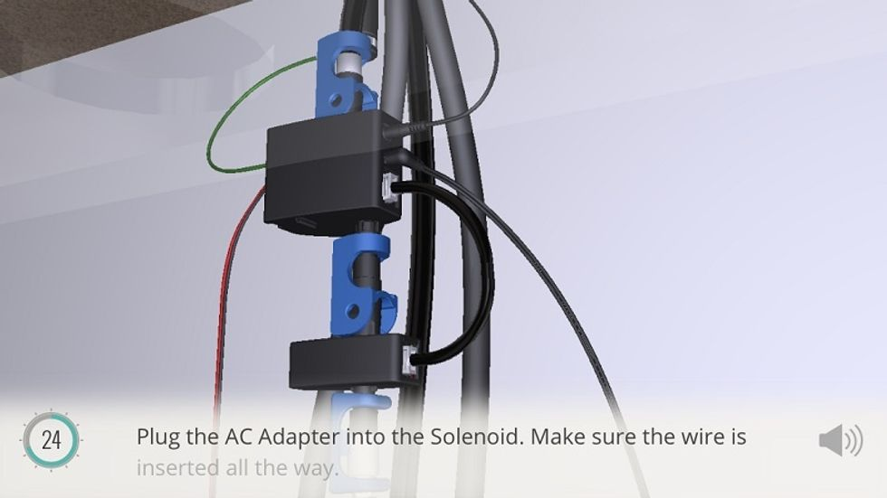 Connecting Solenoid To Ac Adapter Gearbrain