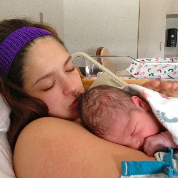 A Birth Story in Pictures - Motherly