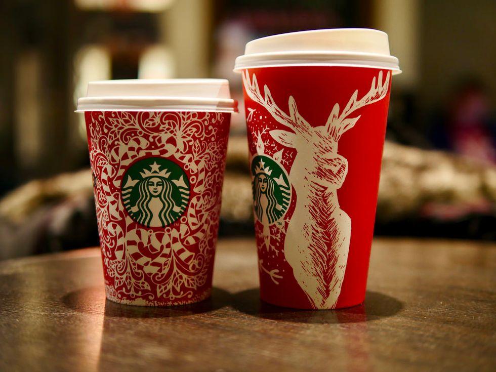 Starbucks Is Already Celebrating Christmas And I Am LIVING