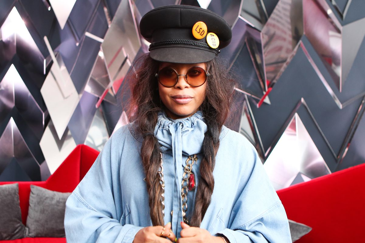 Erykah Badu Shares Groovy Surprise Track