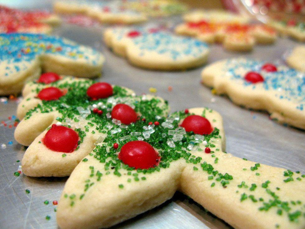 Christmas Cookies As College Majors