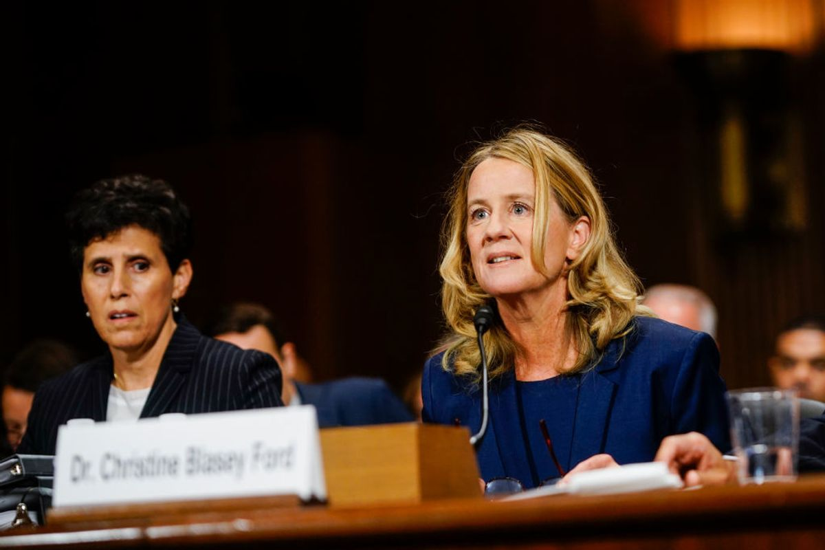 Christine Blasey Ford Still Can't Return To Her Home Or Work