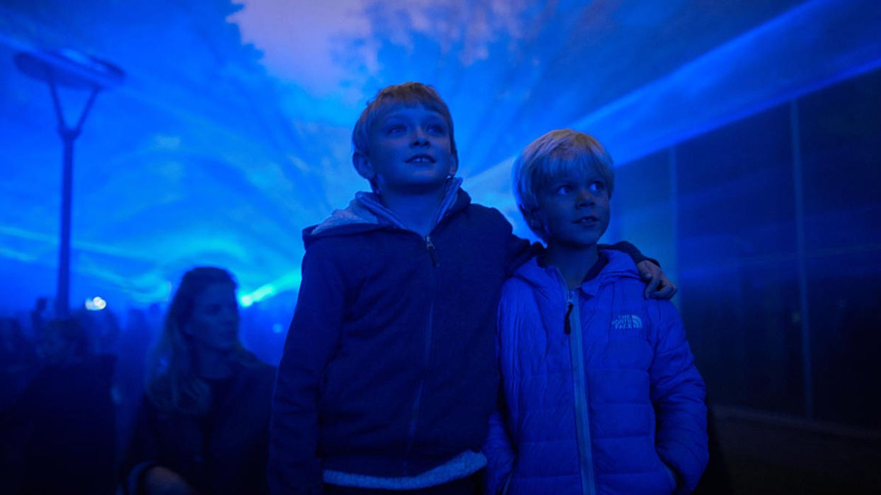 The Climate Change Light Show That's Making Waves in Cities Around the World