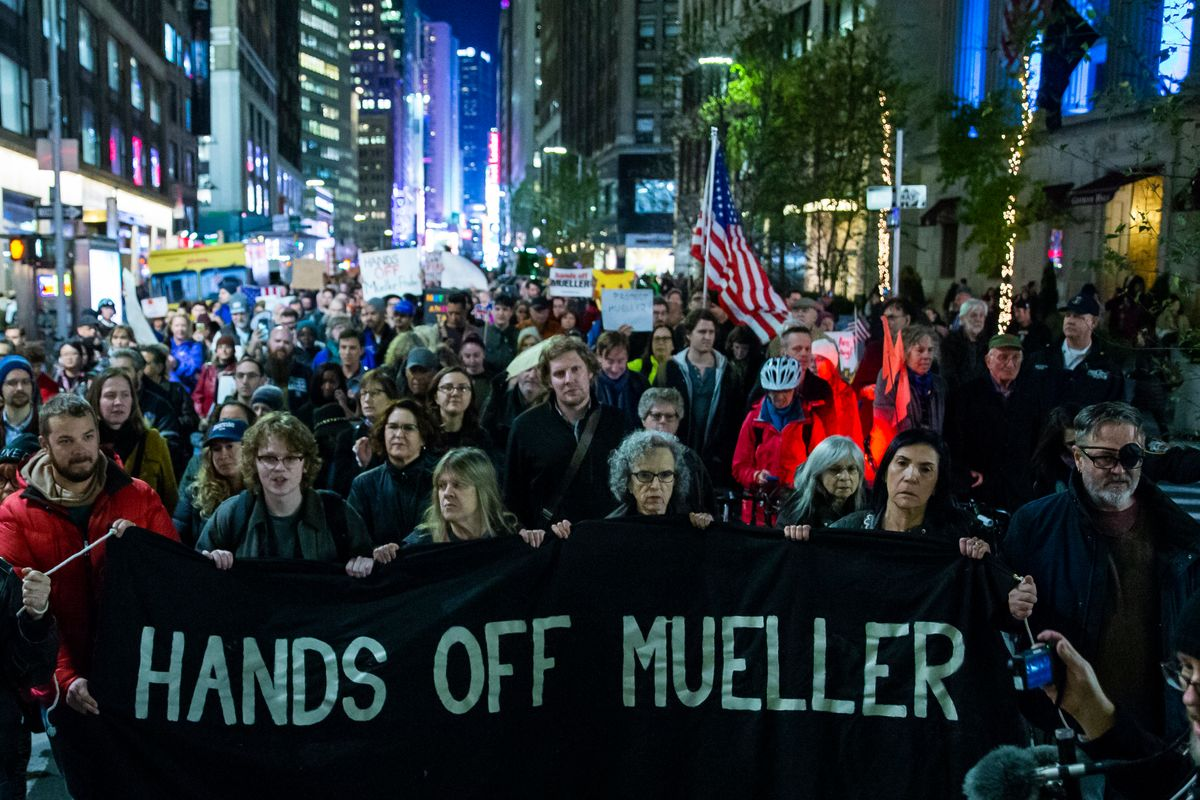 #ProtectMueller Protests Erupt Across the Country