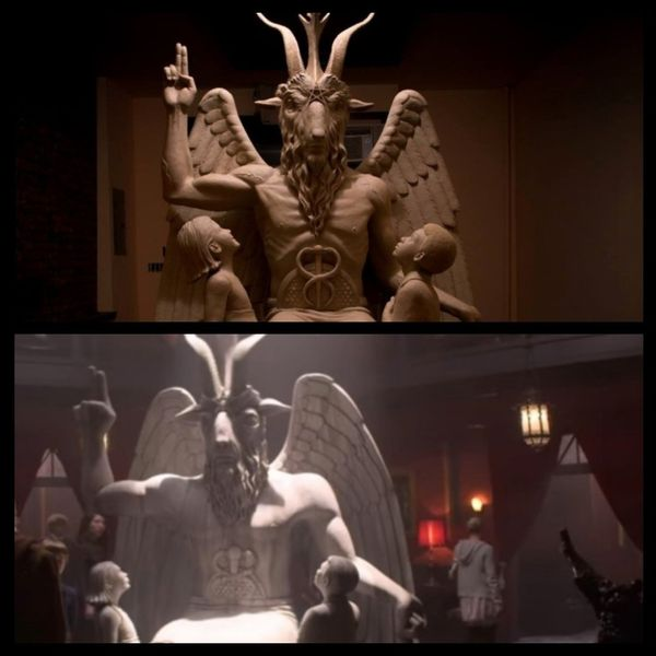 Satanists Sue 'Sabrina' Reboot Over Ripped Off Statue