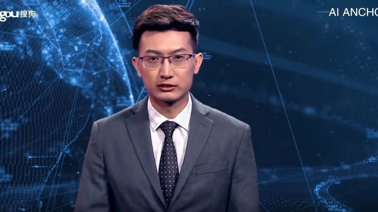 Watch: China unveils the world's first A.I. news anchor