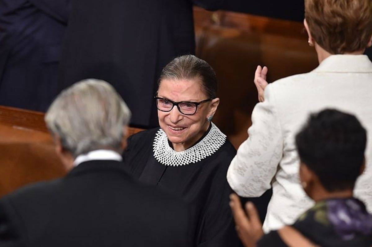 Ruth Bader Ginsburg Is Out Of Hospital