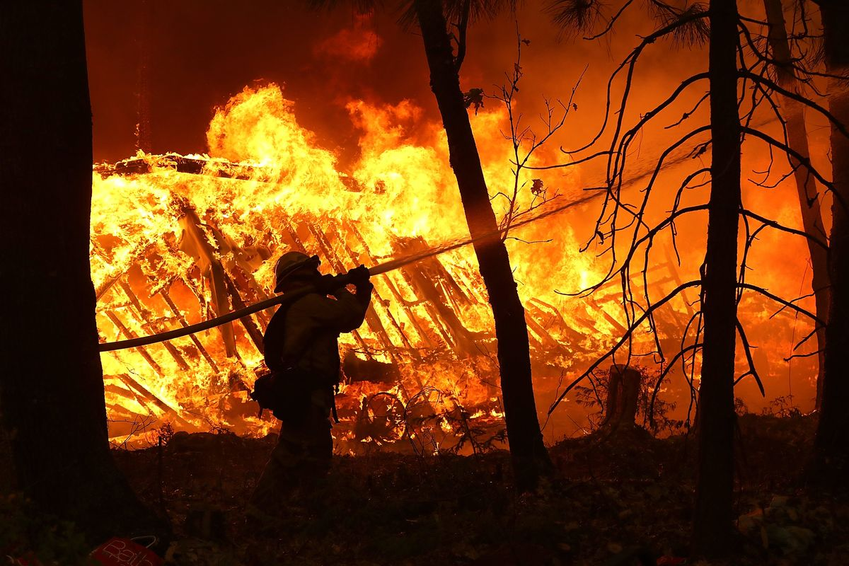 Climate Change Is the Culprit Behind California Wildfires