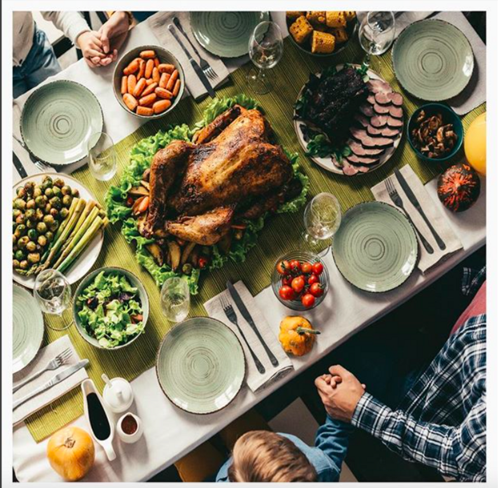 Thanksgiving Is A Time To Put Aside The Negative