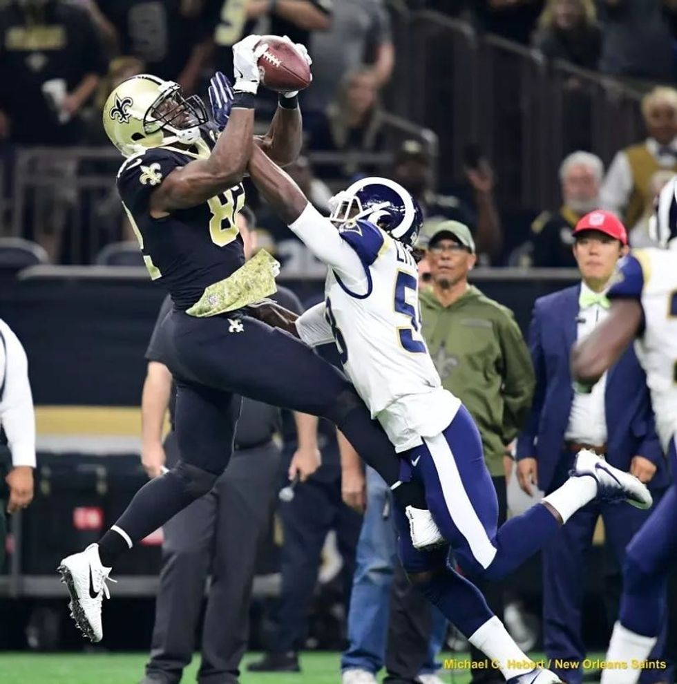 New Orleans Saints Come Out On Top In Matchup With Rams