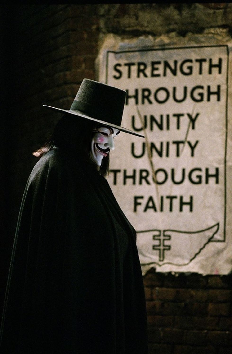 """The World of """"V for Vendetta"""" Has Become Scarily Similar To Today's World"""