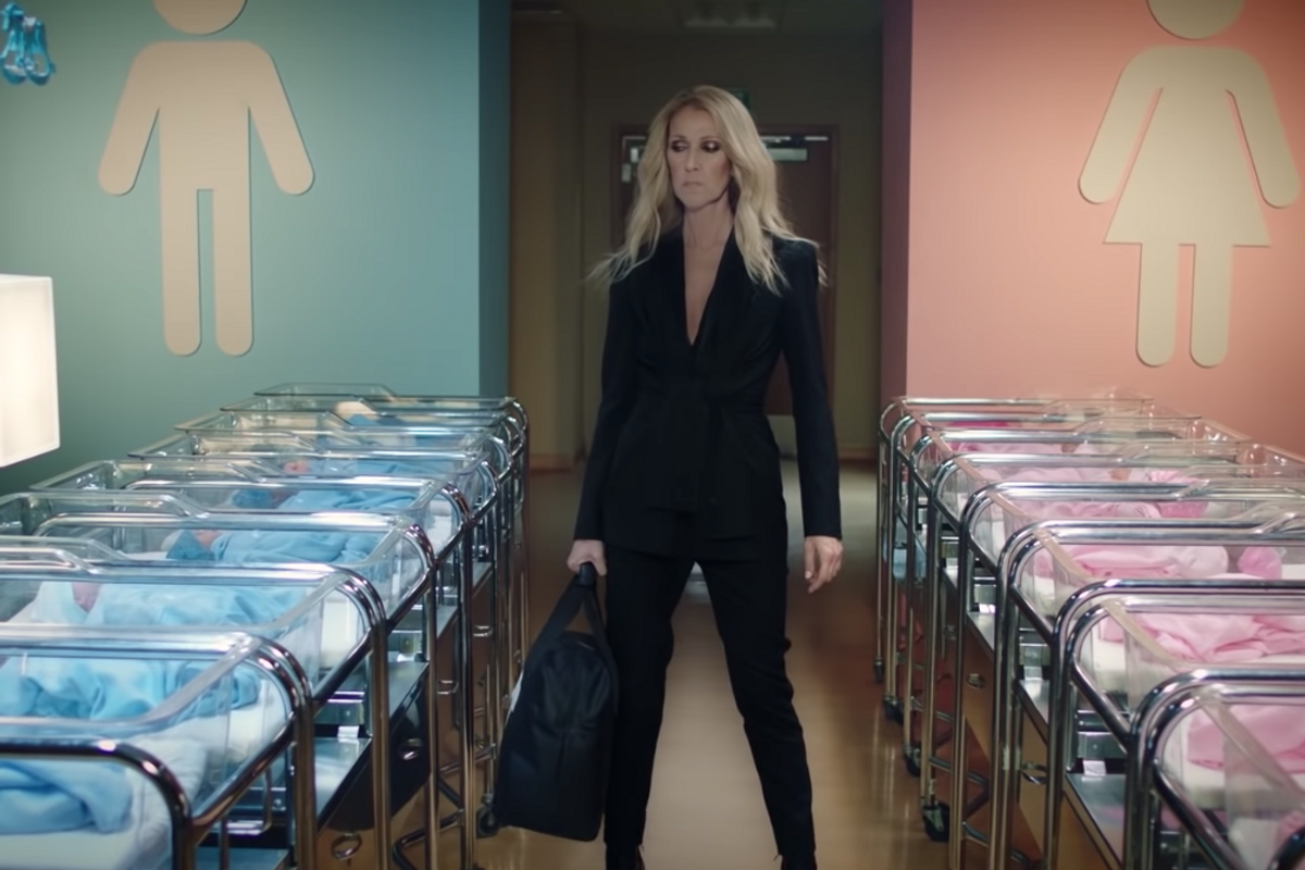 Please Watch This Video of Céline Dion Destroying the Gender Binary