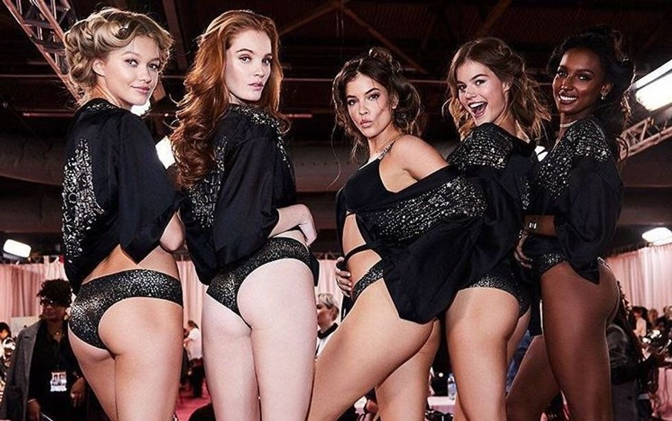The Victoria's Secret Fashion Show Doesn't Represent The Image Of Real Sized Women