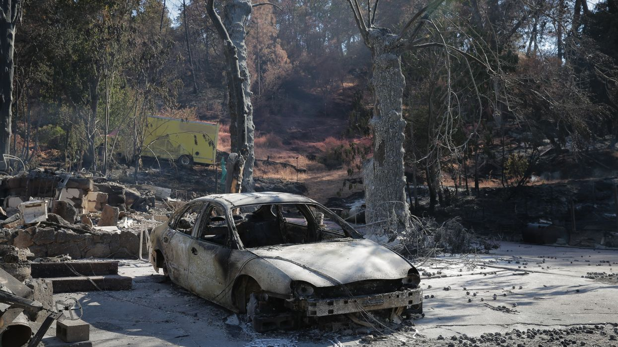 California wildfires death toll climbs to 50
