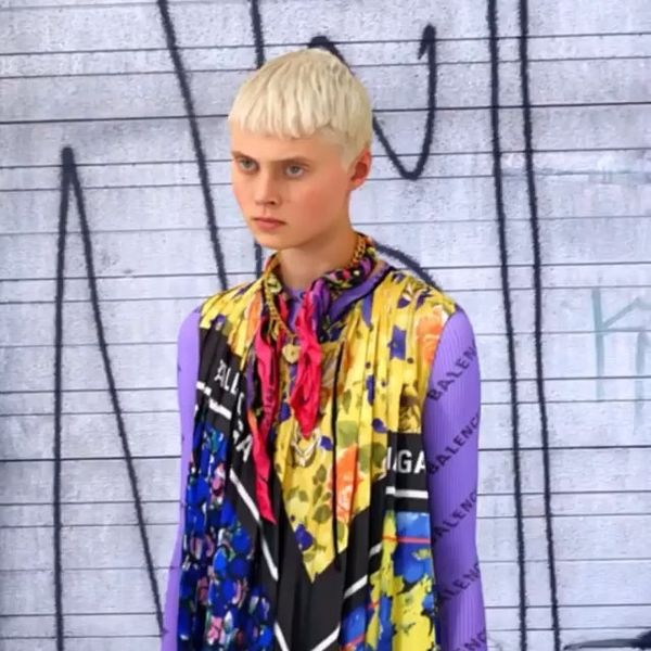 Balenciaga Bends Time and Space In New Lookbook